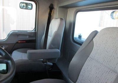 T2-T3 EXTENDED DAY CAB PKG INTERIOR VIEW